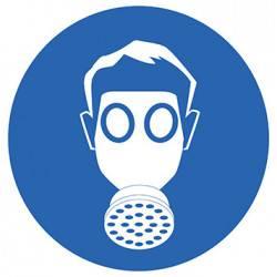 Sticker Panneau Port D'Un Masque Obligatoire