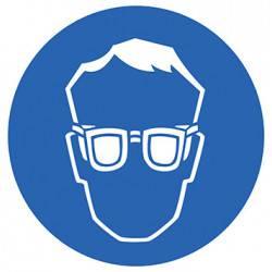 Sticker Panneau Port Des Lunettes De Protection Obligatoire