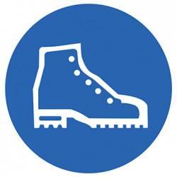 Sticker Panneau Port Des Chaussures De Sécurité Obligatoire