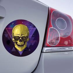 Sticker électro Skull