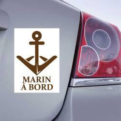 Sticker Marin à bord Ancre