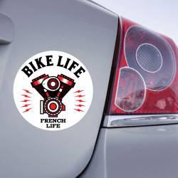 Sticker Bike Life - French Life