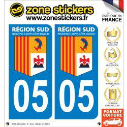 Sticker Plaque 05 Hautes Alpes