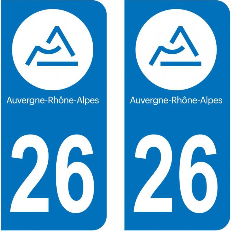 Sticker Plaque 26 Drôme