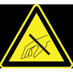 Sticker Panneau Danger Ne Pas Mettre Ses Mains