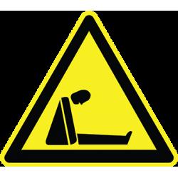 Sticker Panneau Danger Risque d'asphyxie