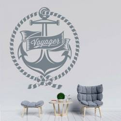 Sticker Ancre - Voyager