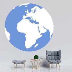 Sticker Globe - Amérique