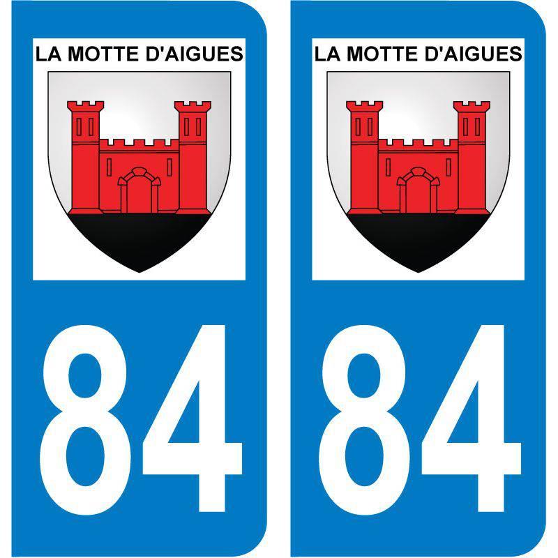 Sticker Plaque La Motte-d'Aigues 84240