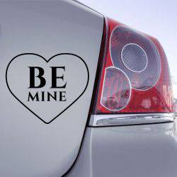 Sticker Coeur Be Mine