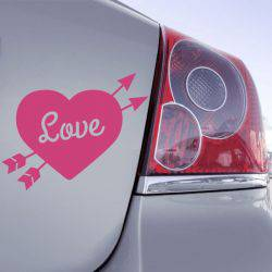 Sticker Coeur Love