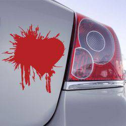 Sticker Coeur Explosé
