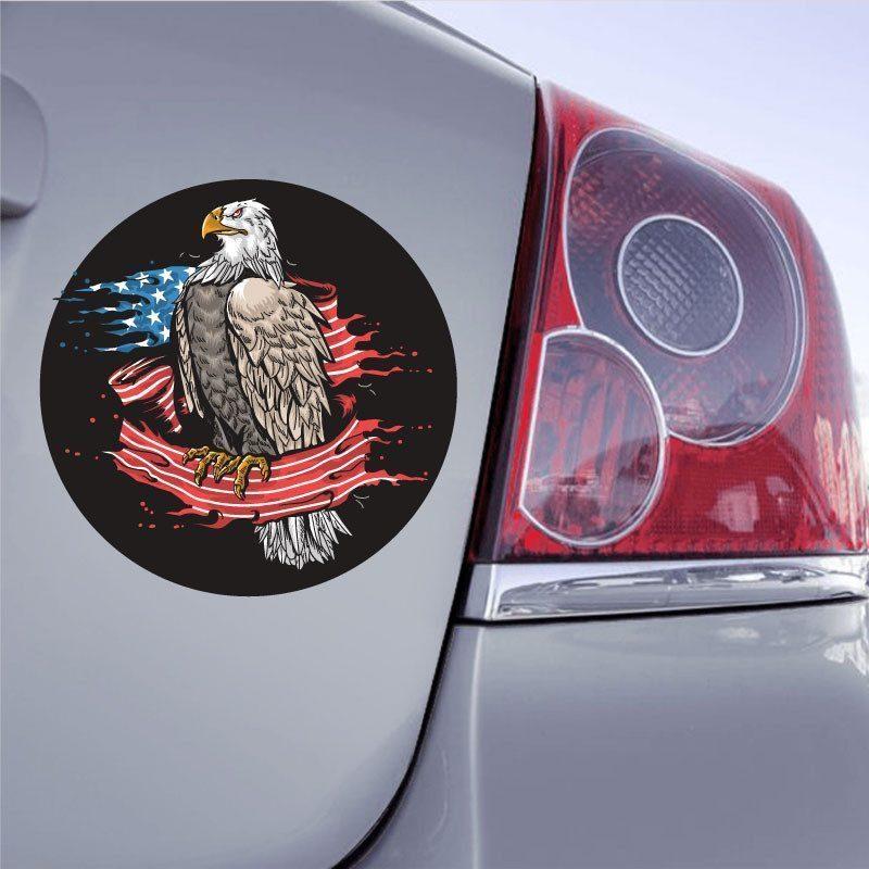 Autocollant Aigle USA - 1