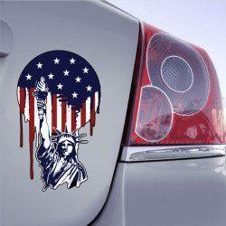 Autocollant USA Liberté - 1