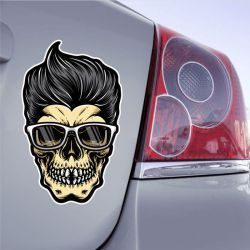 Autocollant Fashion Skull