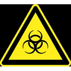 Sticker Panneau Danger Biologique