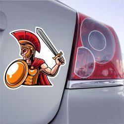 Autocollant Gladiateur