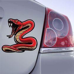 Autocollant Serpent
