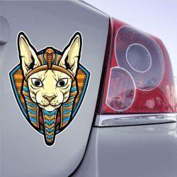 Autocollant Chat Egypte
