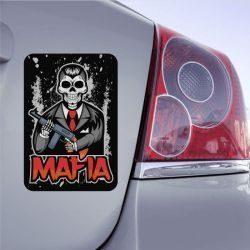 Autocollant Mafia Tête De Mort