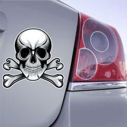 Autocollant Tête De Mort