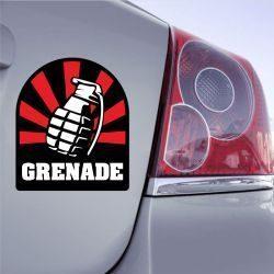 Autocollant Grenade