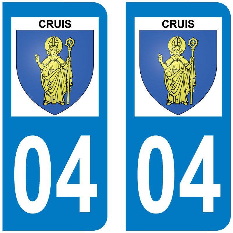 Sticker Plaque Cruis 04230 - 1