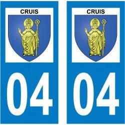 Sticker Plaque Cruis 04230 - 2