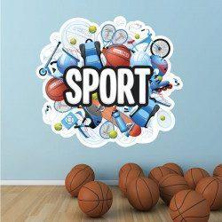 Sticker Sport Deco intérieur - 1
