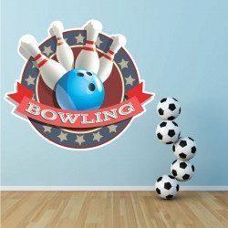 Sticker Bowling Deco intérieur - 1