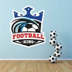 Sticker Football Logo Deco intérieur - 1