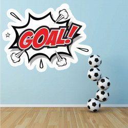 Sticker Foot Goal! Deco intérieur - 1