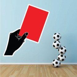 Sticker Carton Rouge Deco intérieur - 1