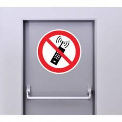 Autocollant Panneau Utilisation GSM Interdite