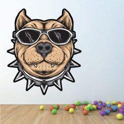 Sticker Chien Funky Deco intérieur - 1