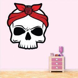Sticker Skullette Deco intérieur - 1