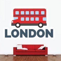 Sticker London Deco intérieur - 1