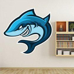Sticker Requin Deco intérieur - 1
