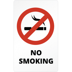 Sticker Panneau Interdiction No Smoking