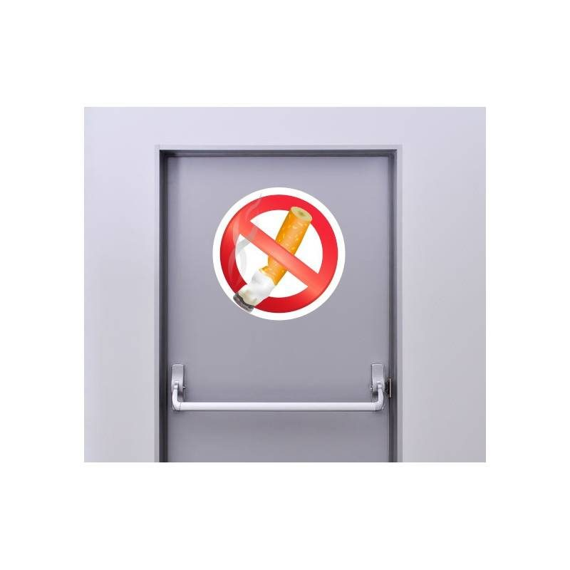 Autocollant Panneau Interdiction De Fumer