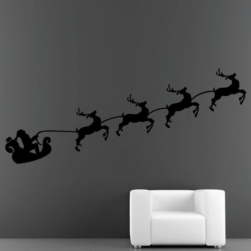 Sticker Traîneau Du Père Noël - 14
