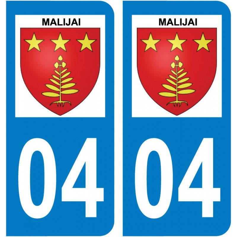 Sticker Plaque Malijai 04350 - 1