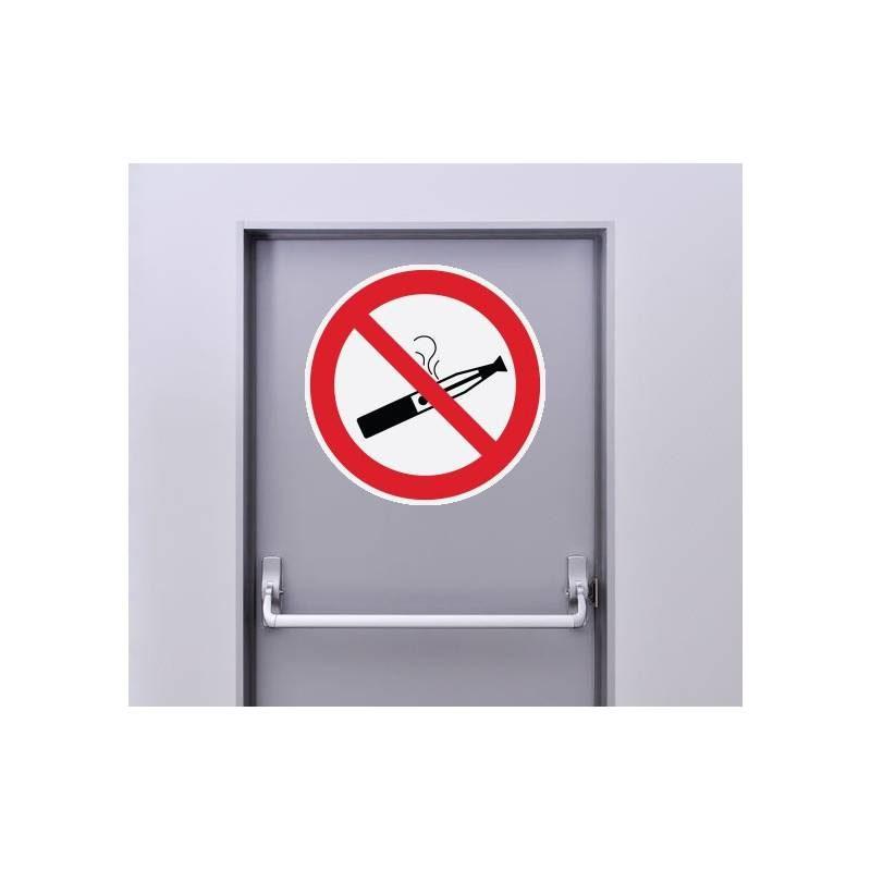 Autocollant Panneau Cigarette Electronique Interdite