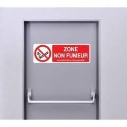 Autocollant Panneau Zone Non Fumeur