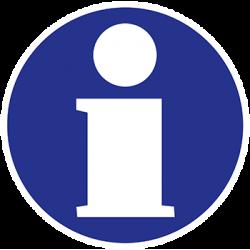 Sticker Panneau D'Information