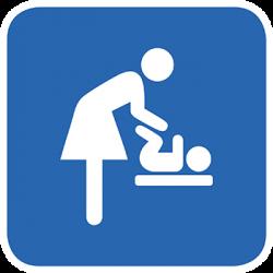 Sticker Panneau Table à langer bébé