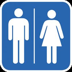Sticker Panneau Toilette
