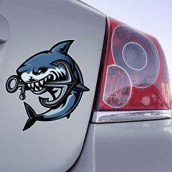 Autocollant Requin Ancre - 1