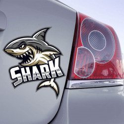 Autocollant Shark - 1