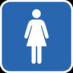 Sticker Panneau Toilette Pour Femme